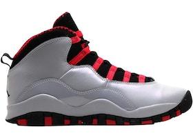 hot sale online fda41 8d854 Jordan 10 Retro Wolf Grey Black Legion (GS)