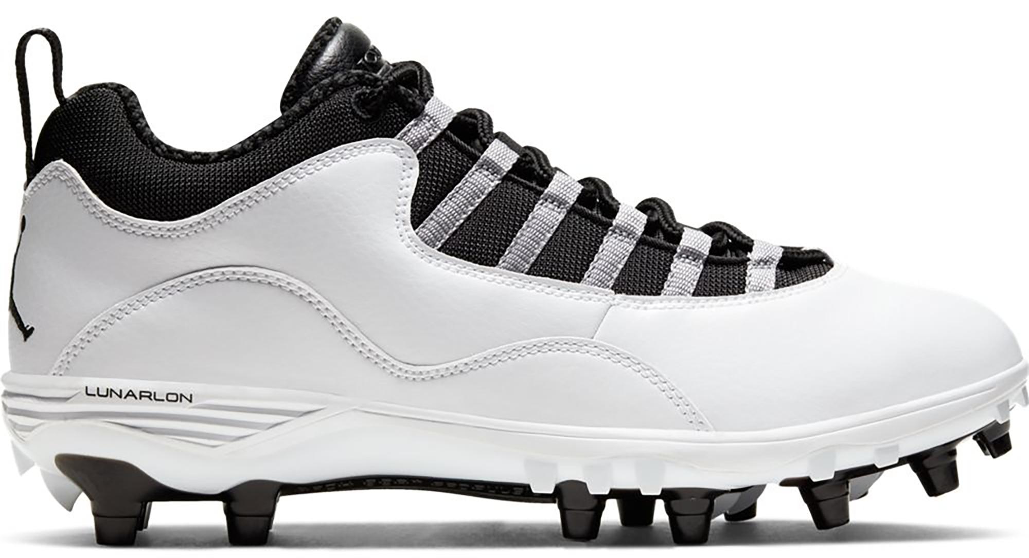 Jordan 10 TD Low Steel Grey - CQ2072-100