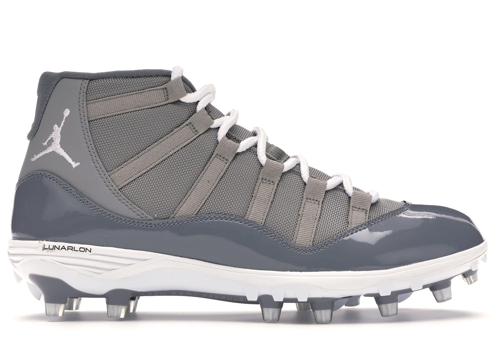 Jordan 11 Retro Cleat Cool Grey
