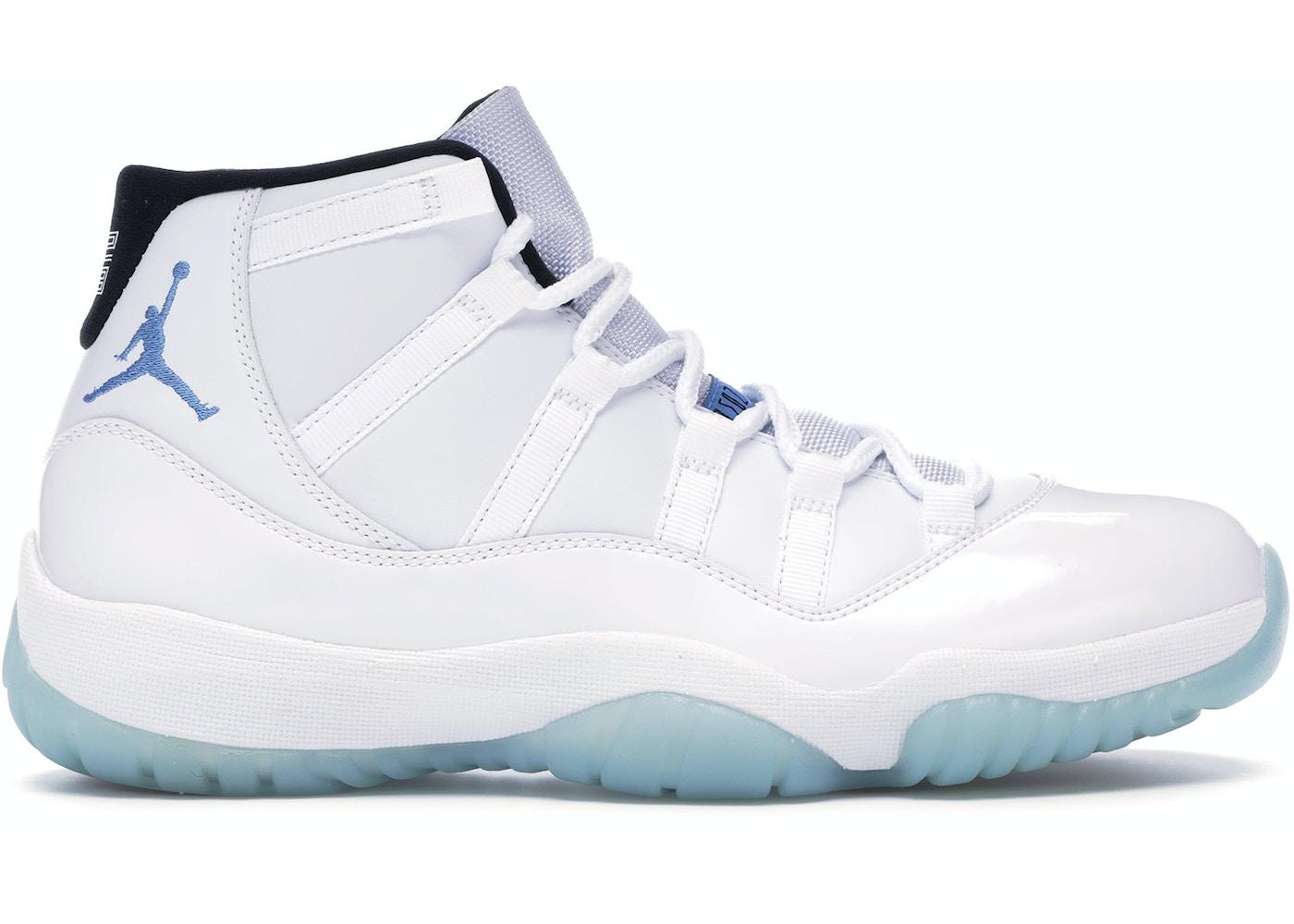 buy popular 4e631 4e4cc Jordan 11 Retro Legend Blue (2014) - 378037-117