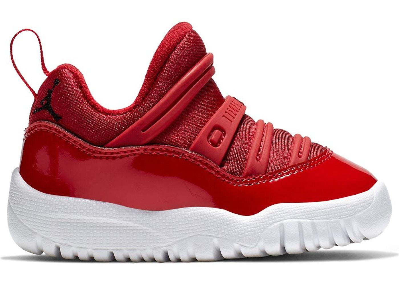 860f387bc64 Jordan 11 Retro Little Flex Gym Red (TD)