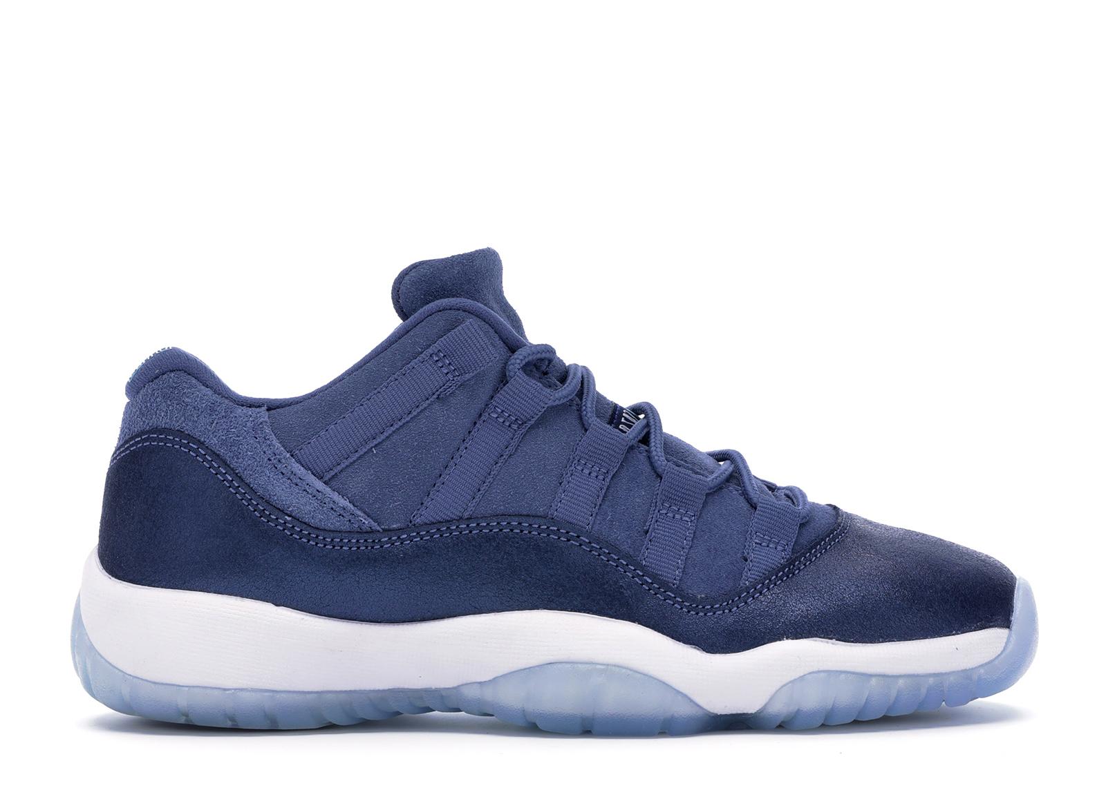 Jordan 11 Retro Low Blue Moon (GS