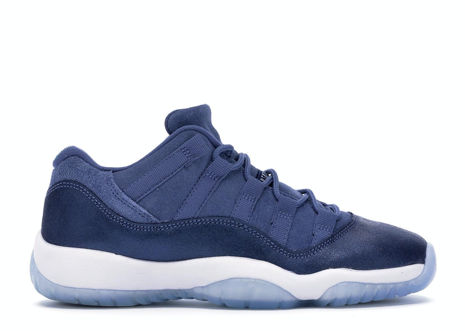 Jordan 11 Retro Low Blue Moon (GS)
