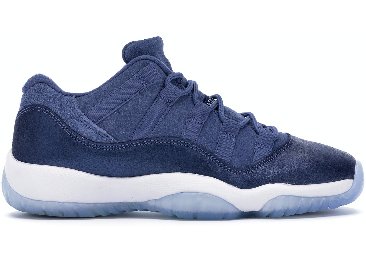 fb814b5f5b4947 Jordan 11 Retro Low Blue Moon (GS) - 580521-408