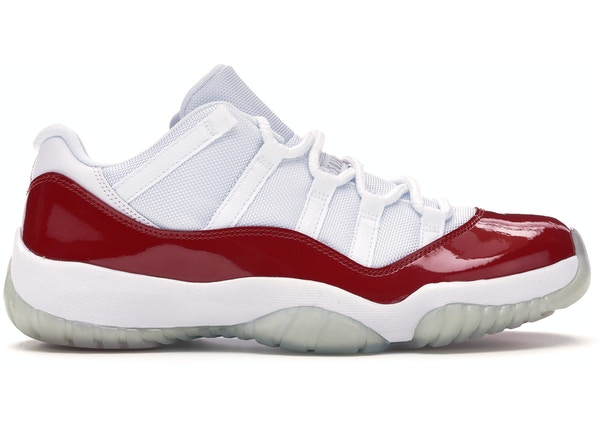 6edda4ad737 Jordan 11 Retro Low Cherry (2016) - 528895-102