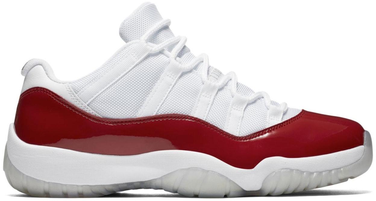 Jordan 11 Retro Low Cherry (2016)