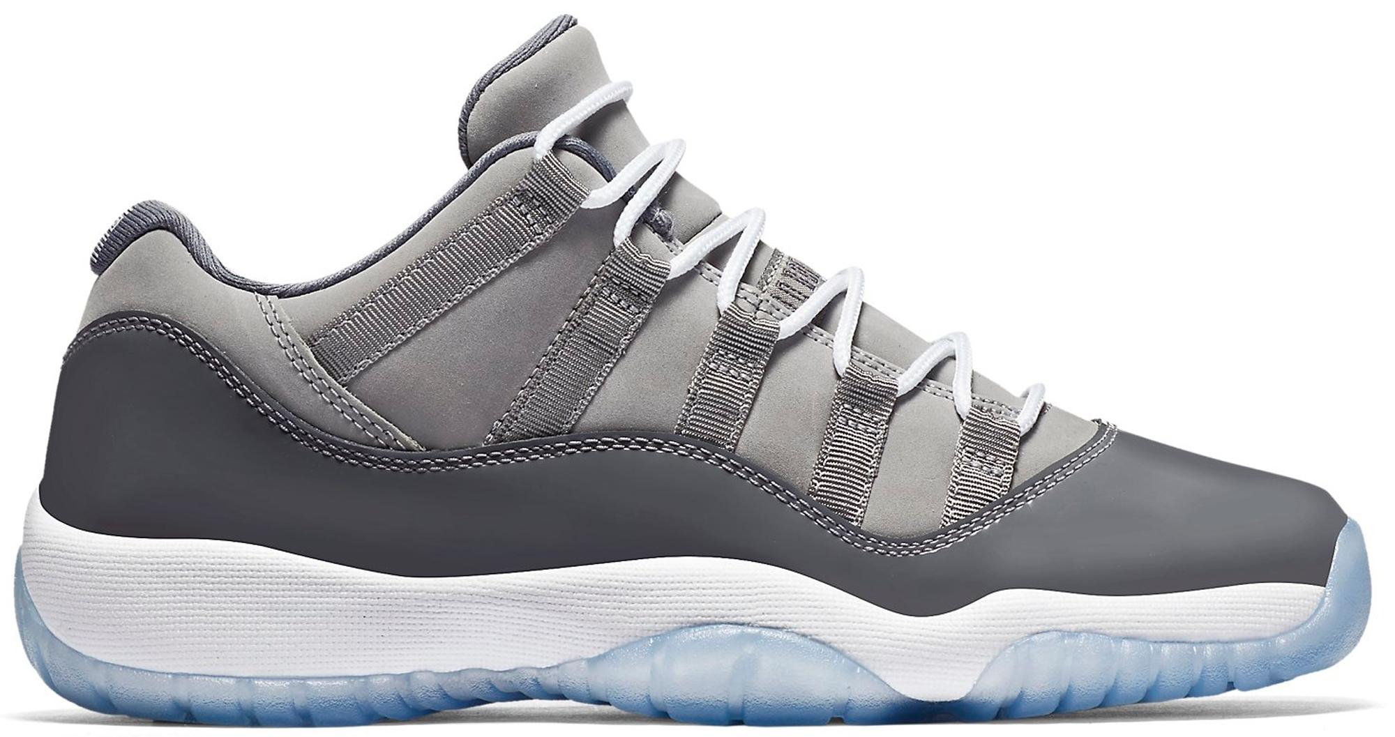 Jordan 11 Retro Low Cool Grey (GS