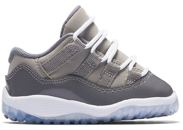 6854d7909d0 Jordan 11 Retro Low Cool Grey (TD) - 505836-003