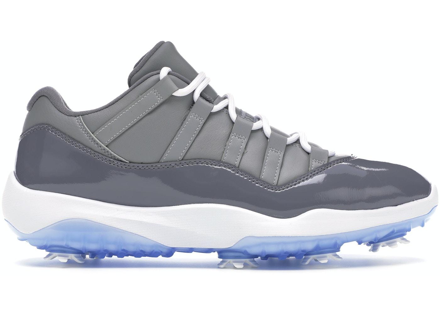 Jordan 11 Retro Low Golf Cool Grey Aq0963 002