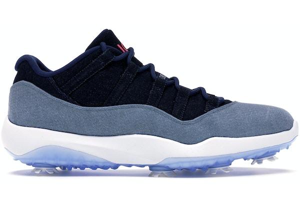 sale retailer e2e78 a6de6 Jordan 11 Retro Low Golf No Denim Allowed - AQ0963-400