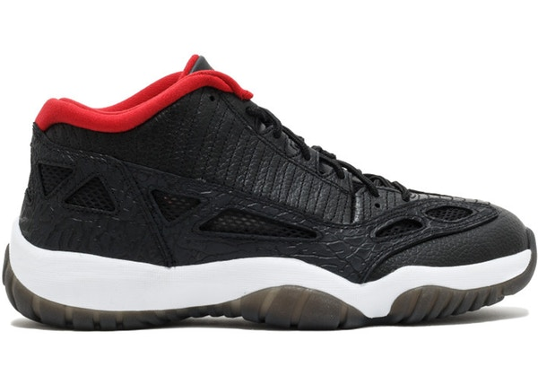 880599e1abeb Jordan 11 Retro Low IE Black Varsity Red (2011)