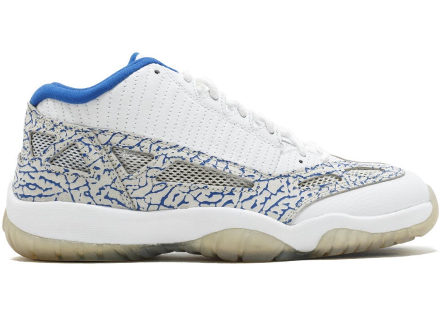 Jordan 11 Retro Low Ie White Argon Blue 306008 172