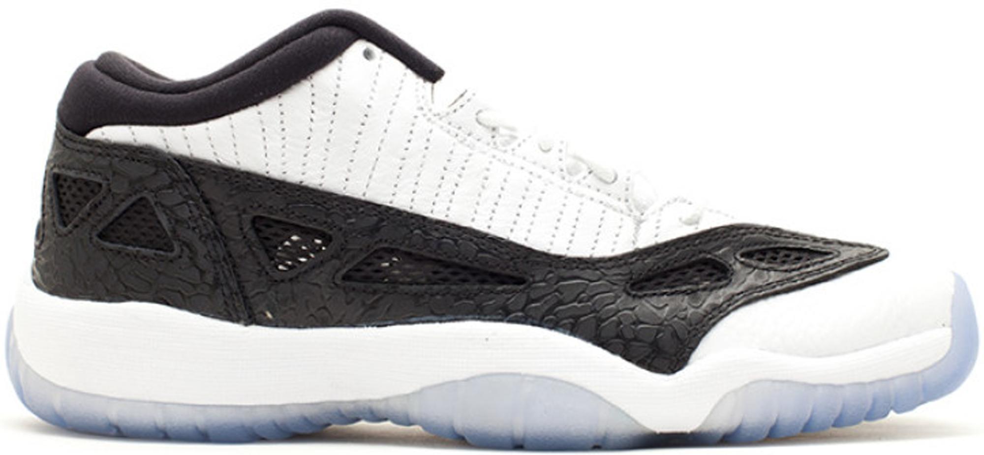 Jordan 11 Retro Low IE White Black 2011 (GS)