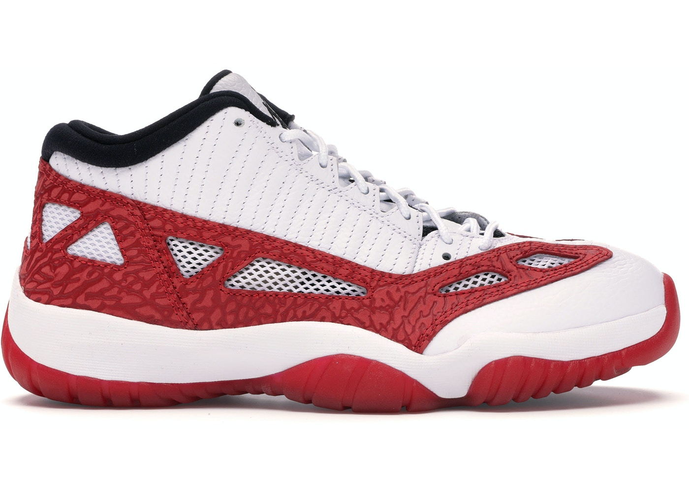 Jordan 11 Retro Low Ie White Gym Red 919712 101