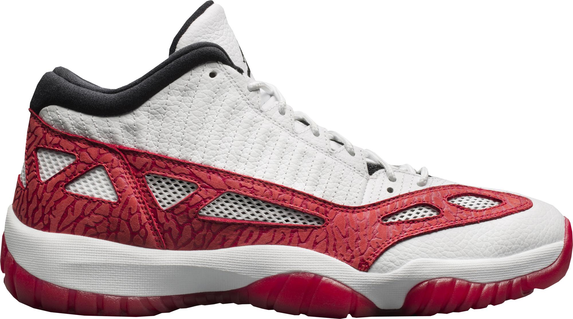 Jordan 11 Retro Low IE White Gym Red