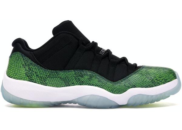09fd8155d67 Jordan 11 Retro Low Green Snakeskin - 528895-033
