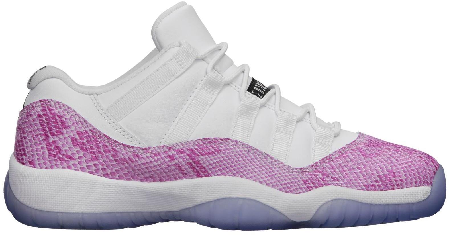 Jordan 11 Retro Low Pink Snakeskin 2013
