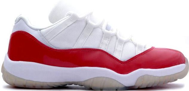 Jordan 11 Retro Low Cherry (2001