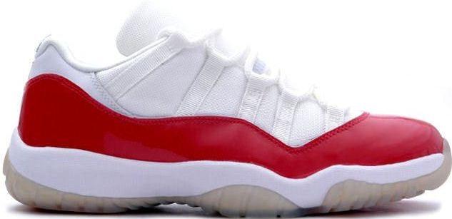 Jordan 11 Retro Low Cherry (2001)