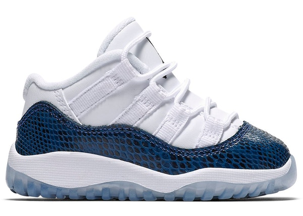 a24077030a9 Jordan 11 Retro Low Snake Navy 2019 (TD)