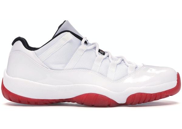 buy online 650d8 cc762 Jordan 11 Retro Low White Red (2012)