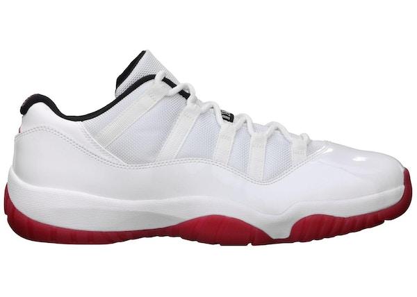 premium selection 6952e 455c2 Jordan 11 Retro Low White Red (2012) - 528895-101