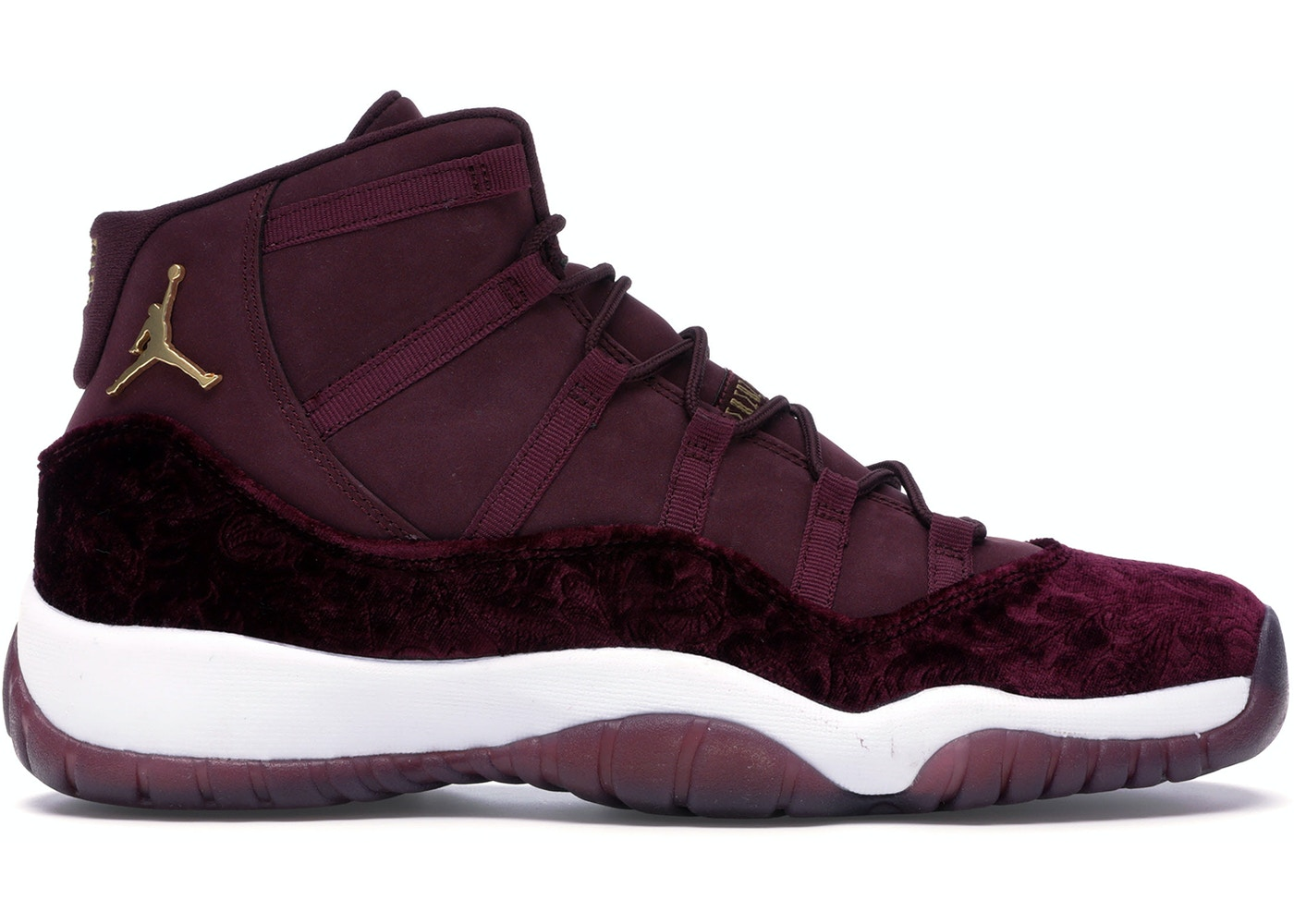 competitive price 71c99 7414d Jordan 11 Retro Heiress Night Maroon (GS) - 852625-650