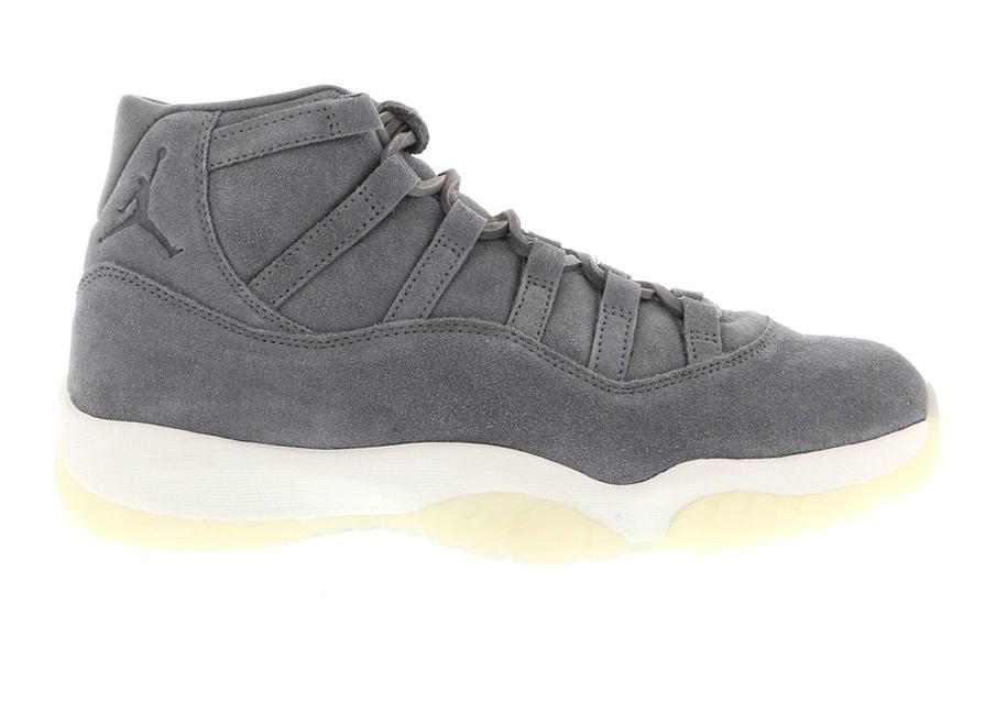 Jordan 11 Retro Pinnacle Grey Suede