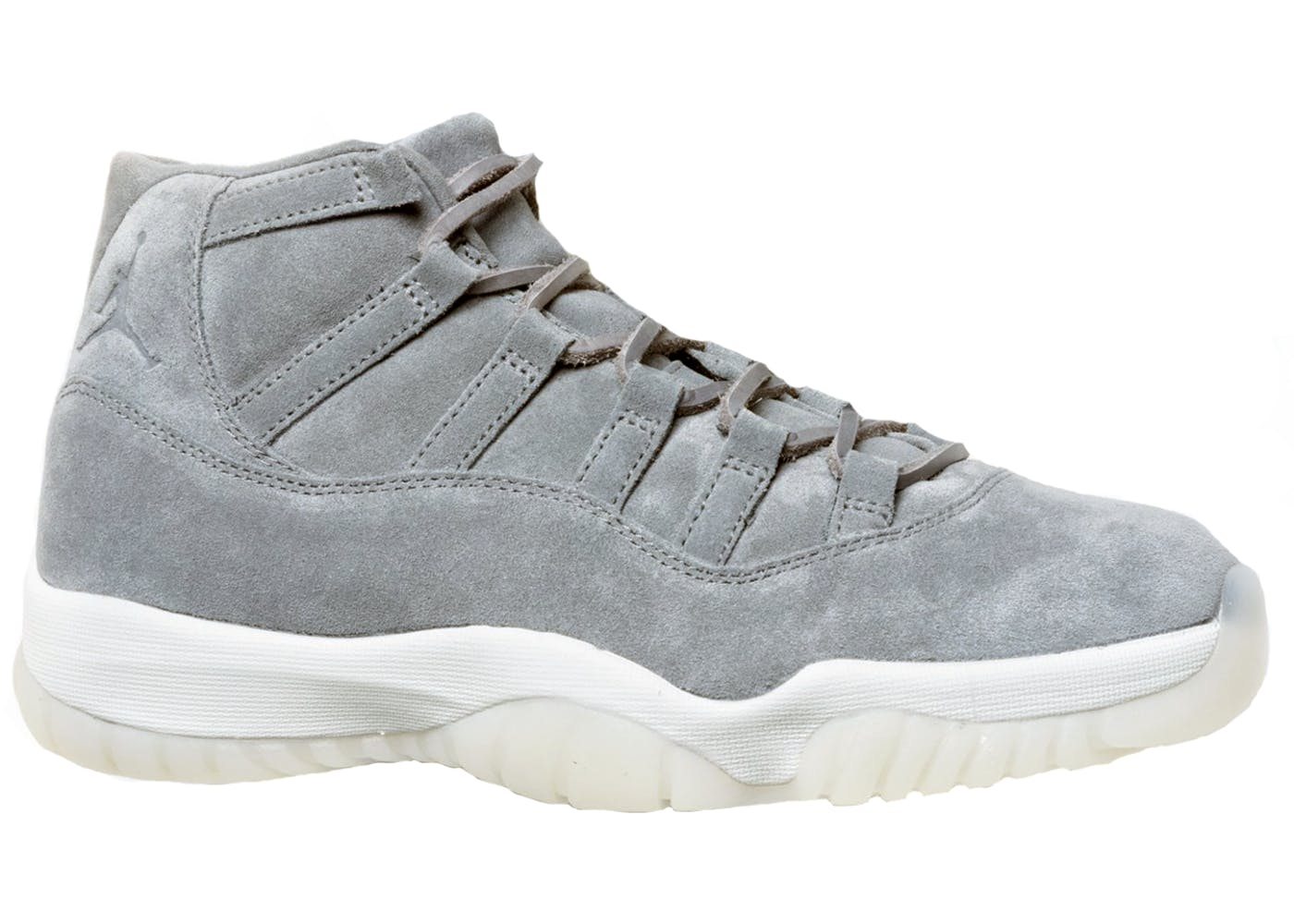 7164853ee4fb Air Jordan 11 Pinnacle Grey Suede