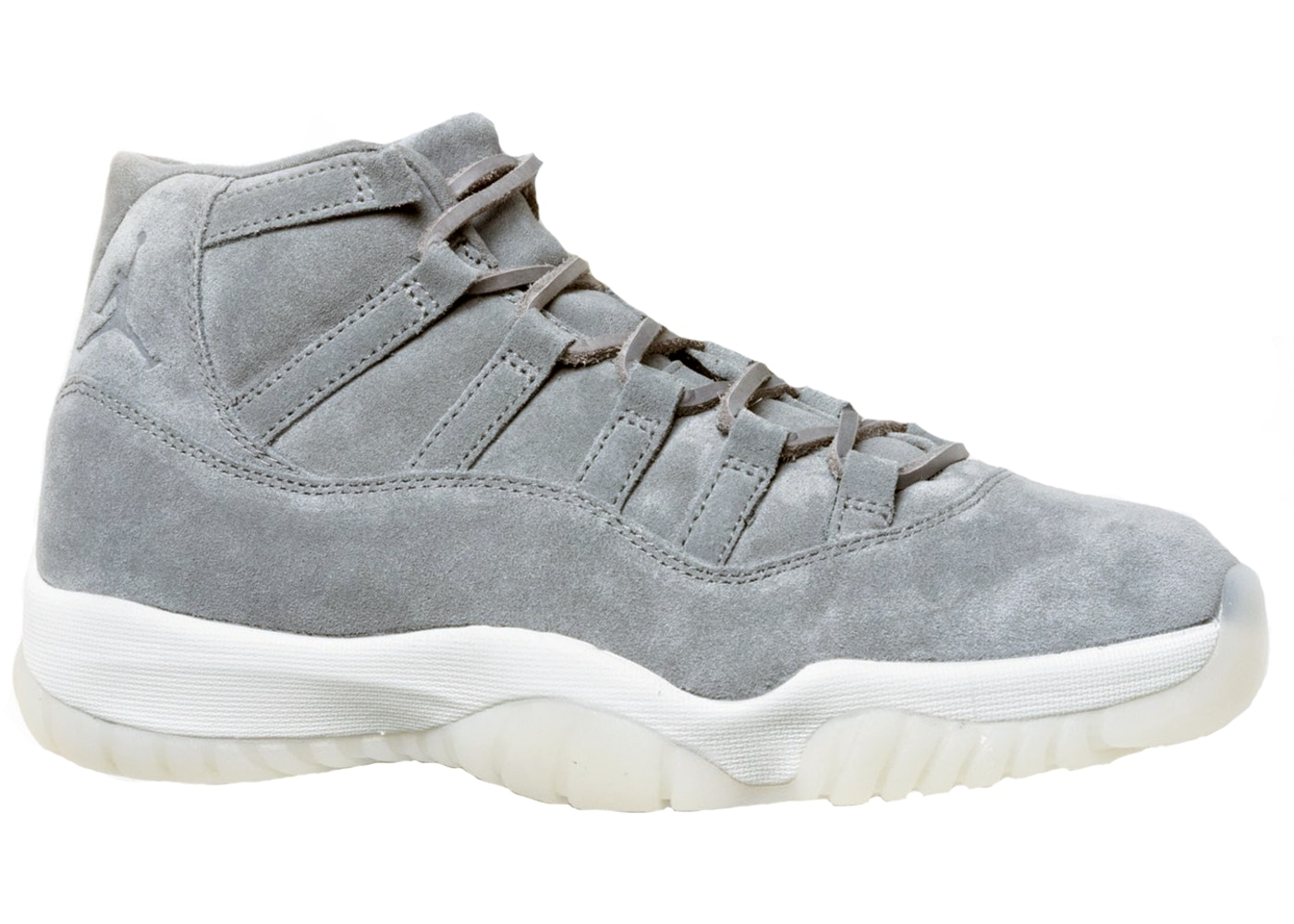 wholesale dealer 46d83 2b00a Jordan 11 Retro Pinnacle Grey Suede