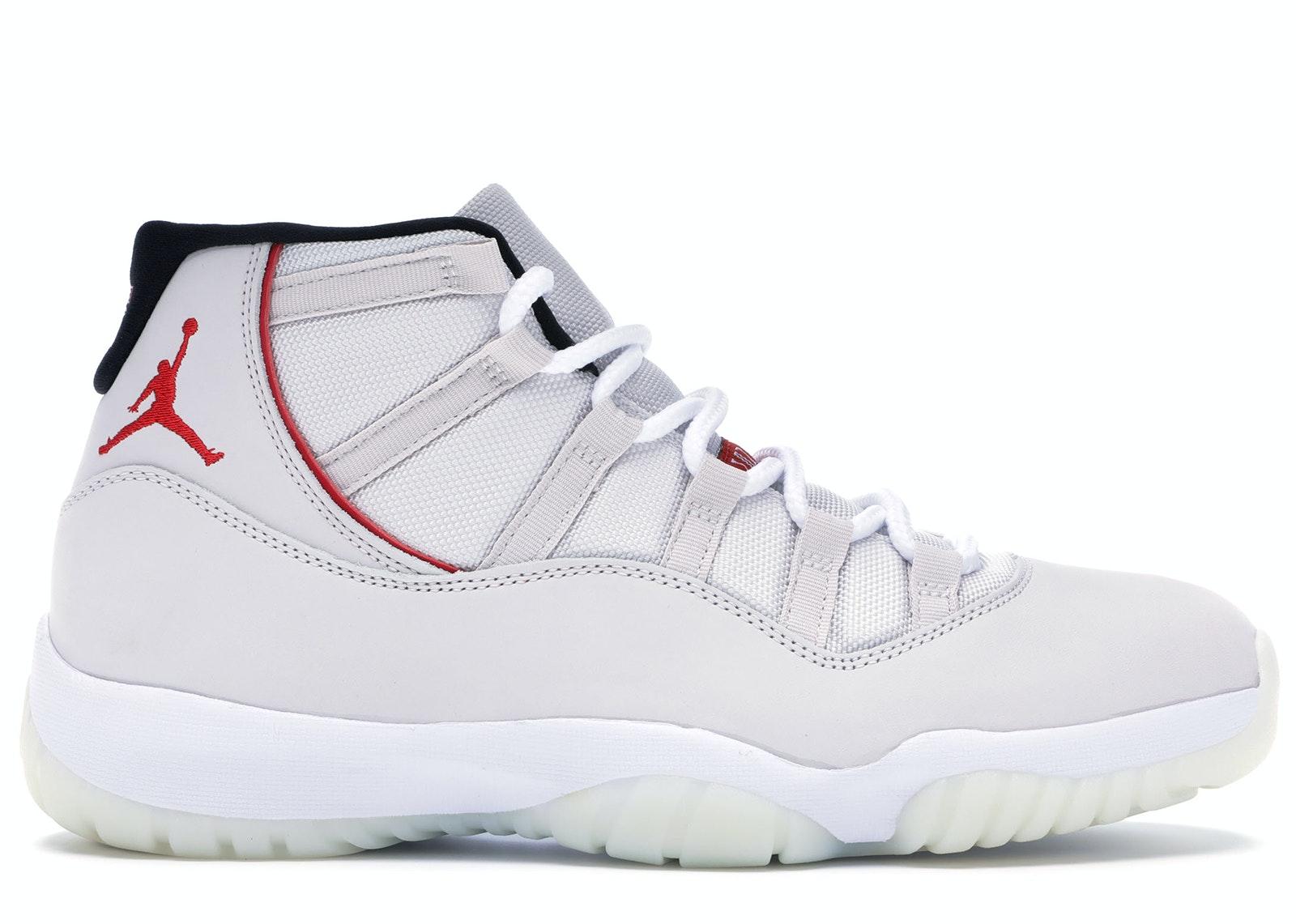 Jordan 11 Retro Platinum Tint