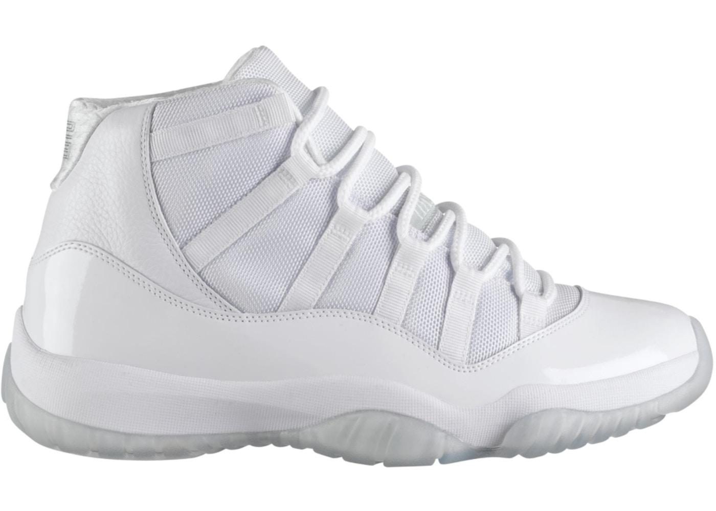 wide range best shoes top design Jordan 11 Retro Silver Anniversary (GS) - 378038-101