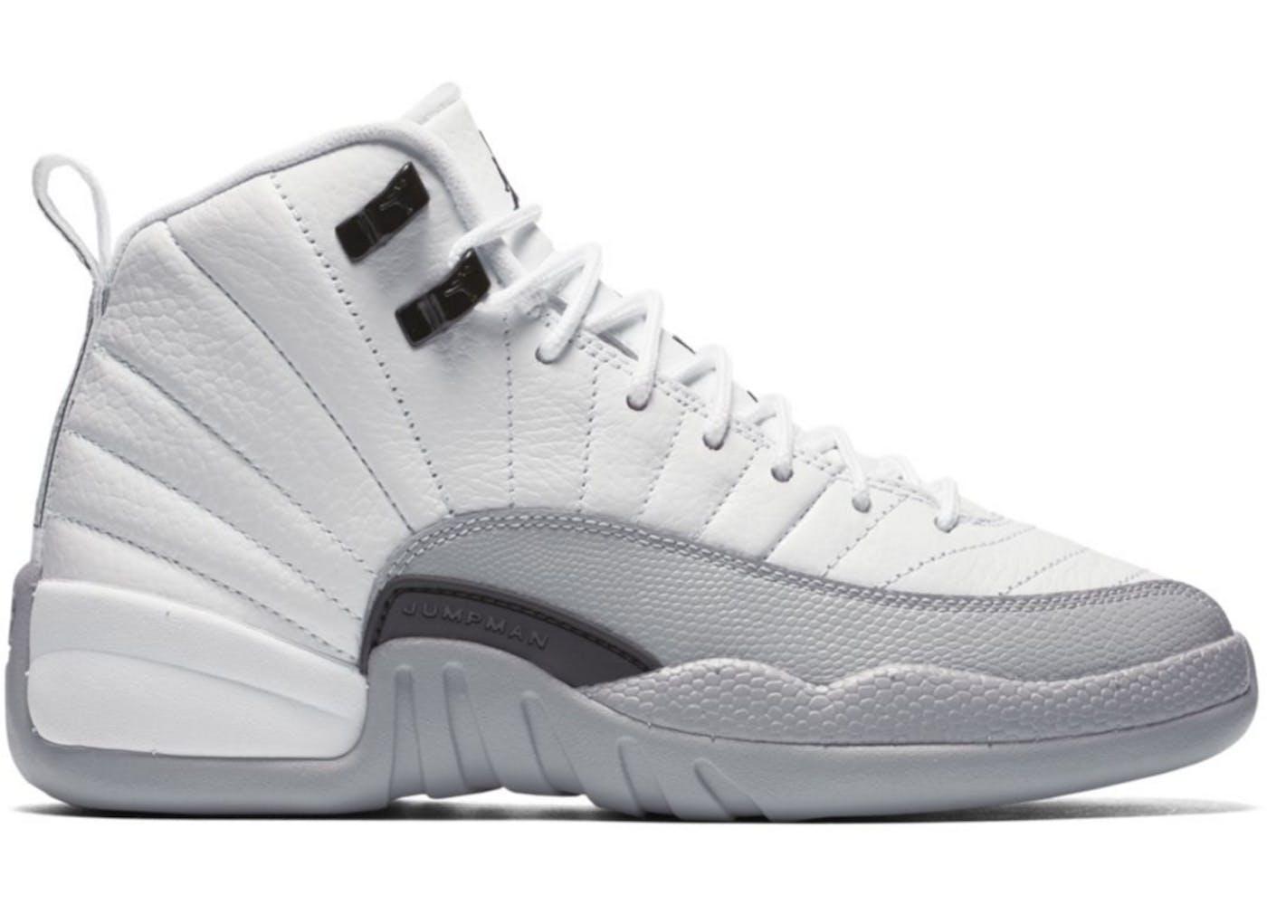 a8b1432c37de63 ... Jordan 12 Retro Barons (GS) ... air jordan ix white size 7.5y ...