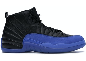 online store 63169 0feef Jordan 12 Retro Black Game Royal