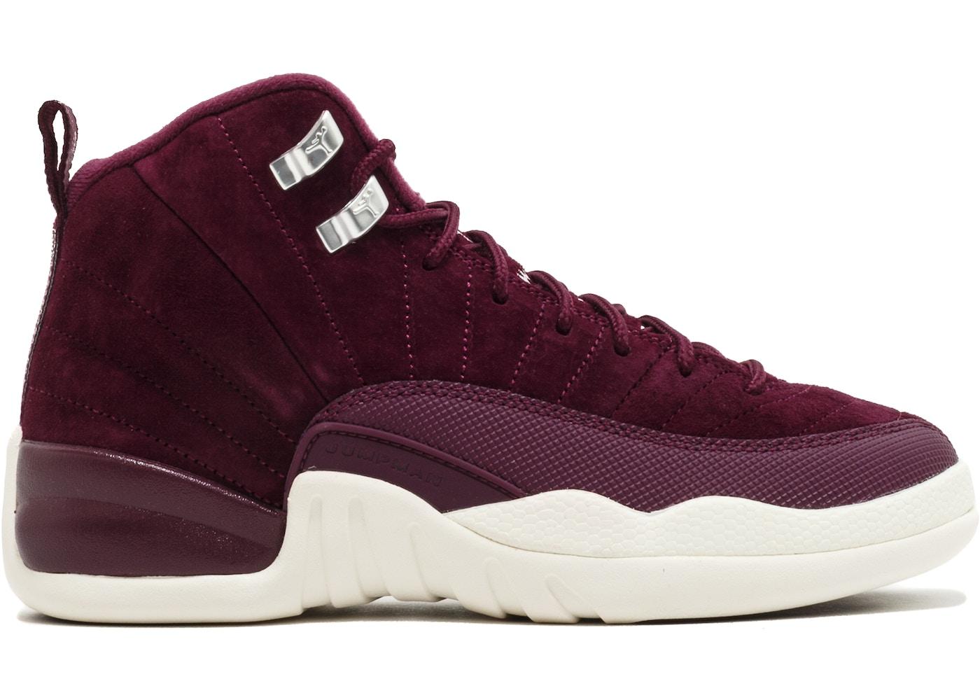 Jordan 12 Retro Bordeaux (GS) - 153265-617 9961e83c3
