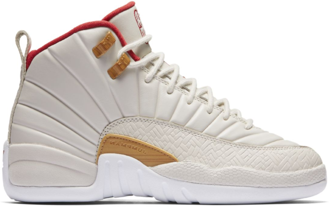 Nike Air Jordan 12 CNY Chinese New Year GS 881428-142 5Y