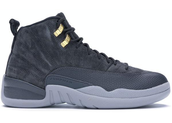 more photos 7fe92 38edb Jordan 12 Retro Dark Grey - 130690-005