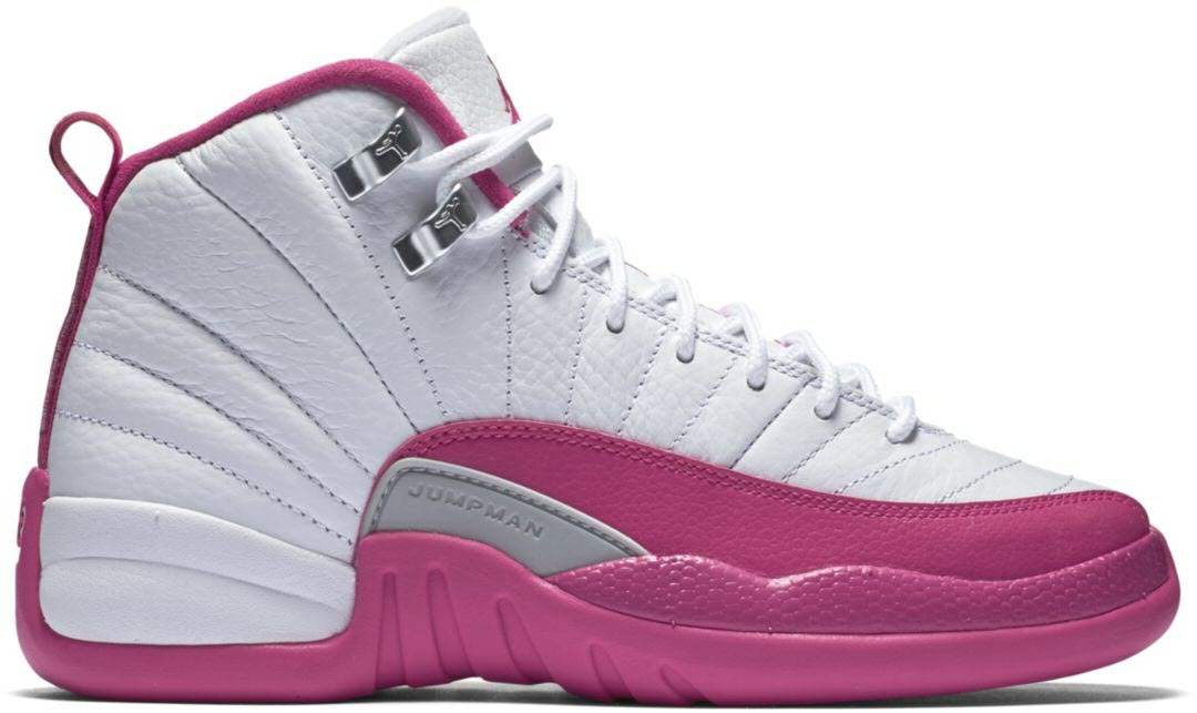 nike air jordan retro 12 gs xii dynamic pink with limited internet