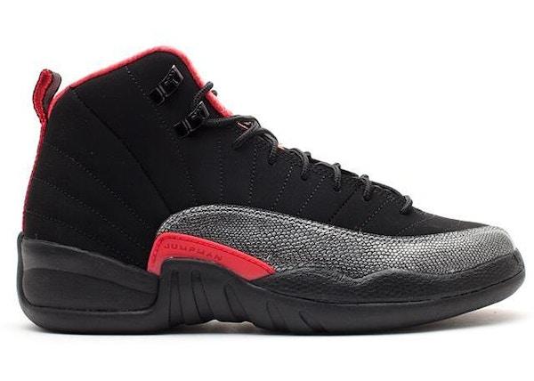 sports shoes 5d3af 5391c Jordan 12 Retro Black Siren Red (GS) - 510815-008