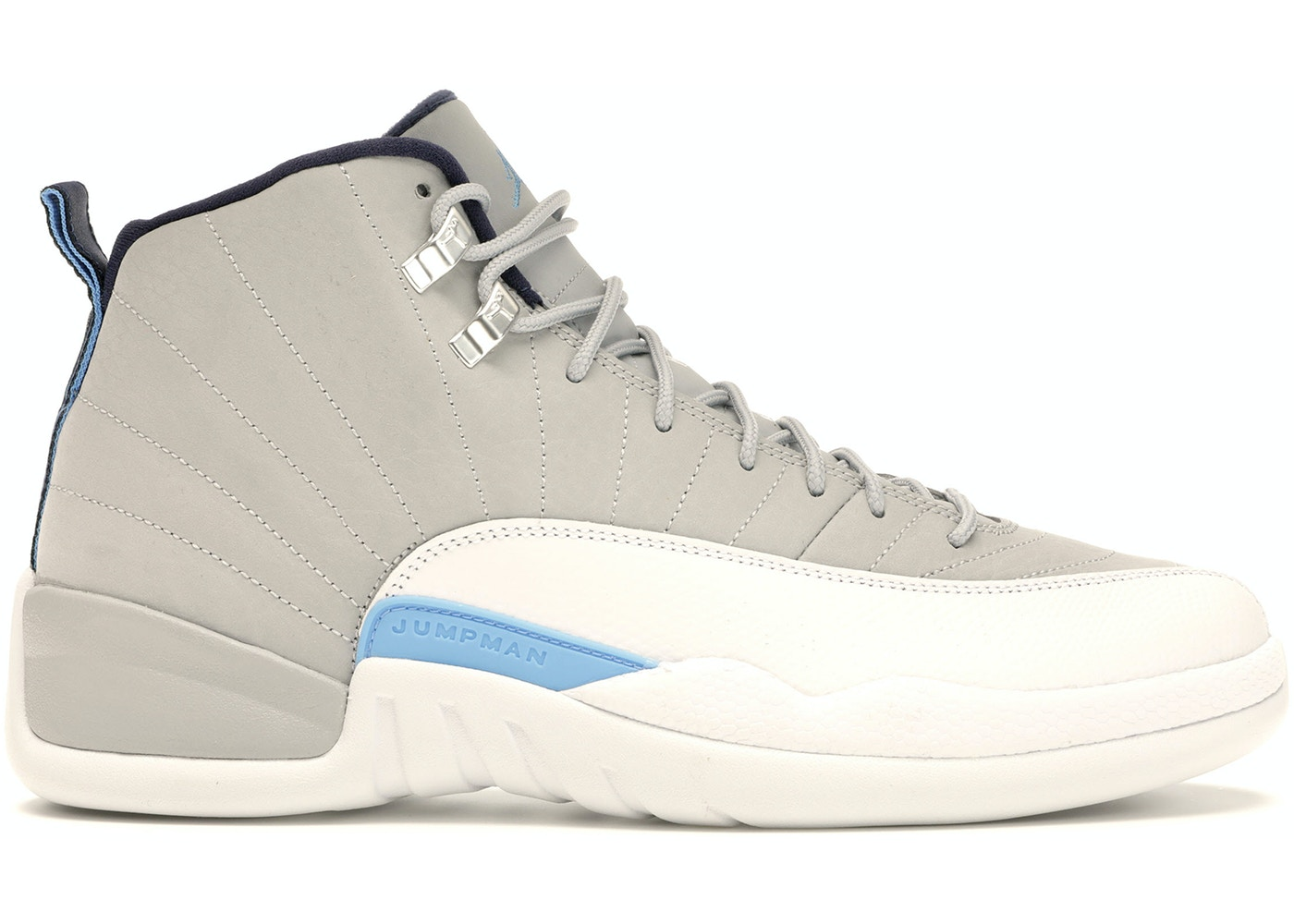 online store 7eed0 ad1c6 Jordan 12 Retro Grey University Blue