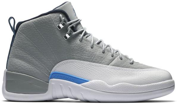 Jordan 12 Retro Grey University Blue