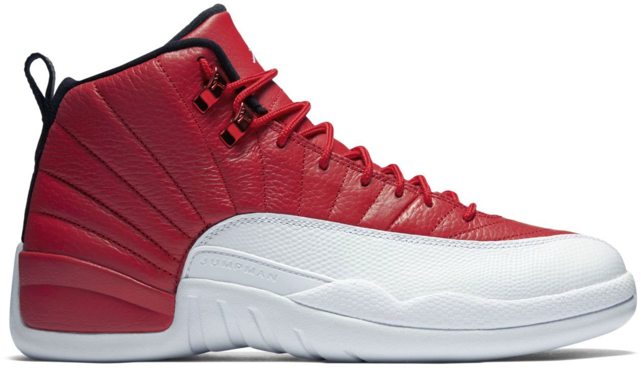 retro jordan 12 gym red