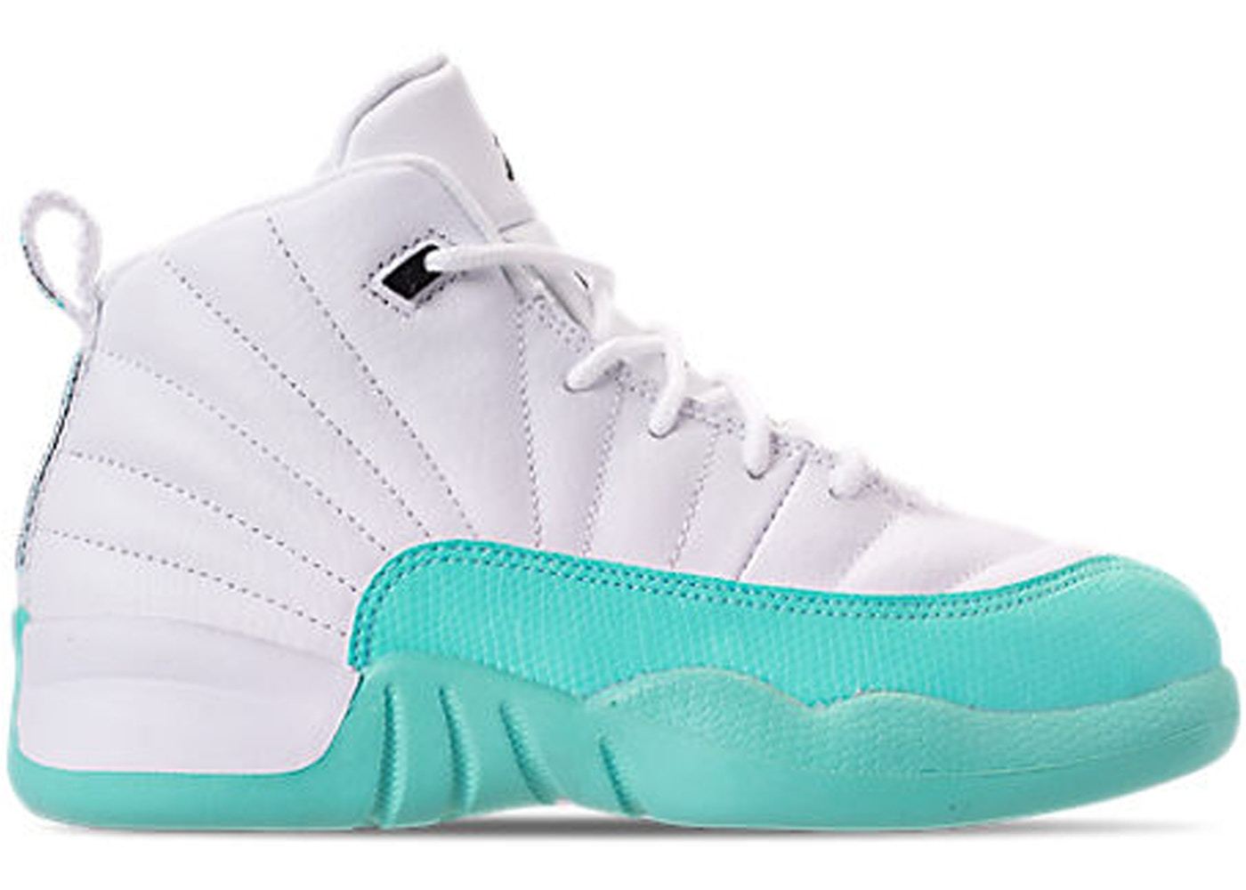 factory authentic 39886 bec1b Jordan 12 Retro Light Aqua (PS)