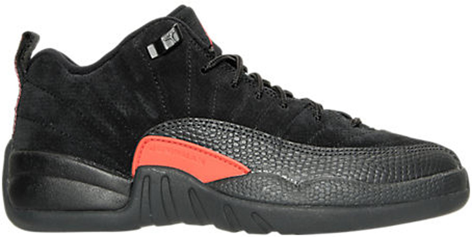 Jordan 12 Retro Low Max Orange (GS