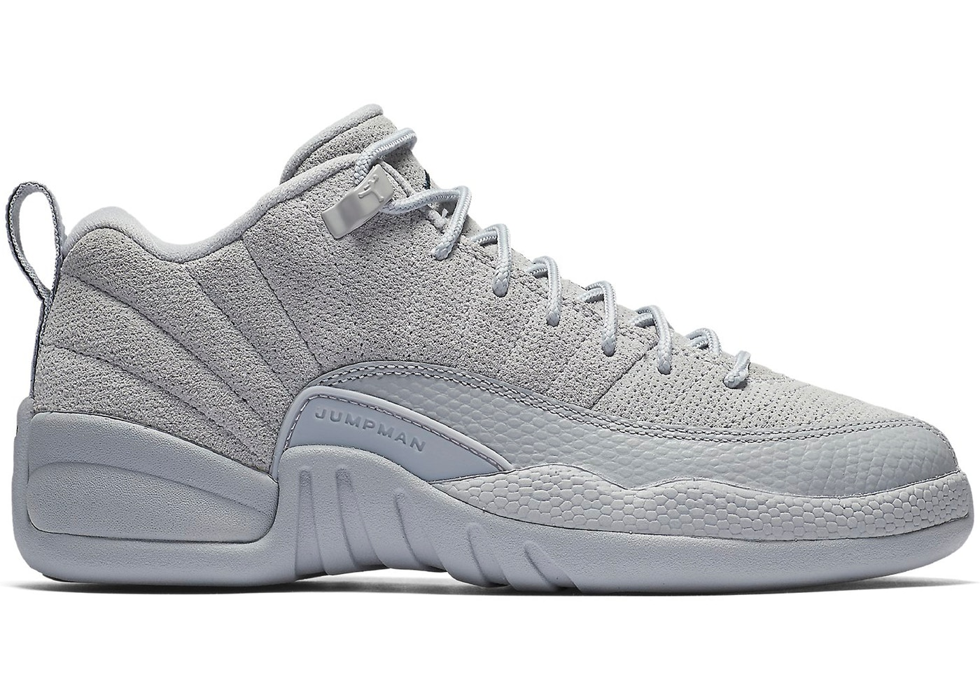 Jordan 12 Retro Low Wolf Grey (GS) - 308305-002 9c39b6acd