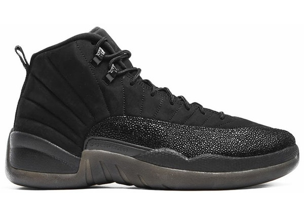 newest collection f0def 5abda Jordan 12 Retro OVO Black