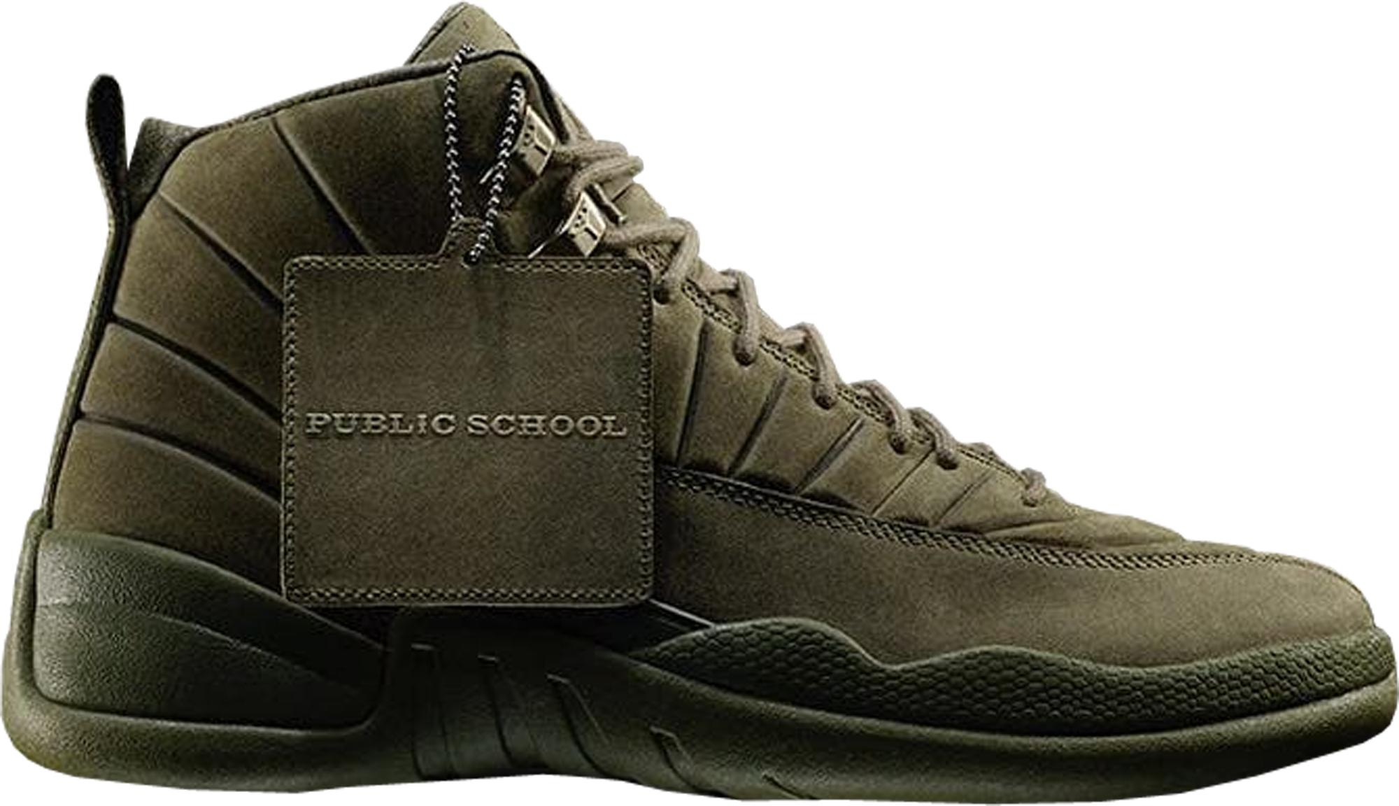 Jordan 12 Retro PSNY Olive