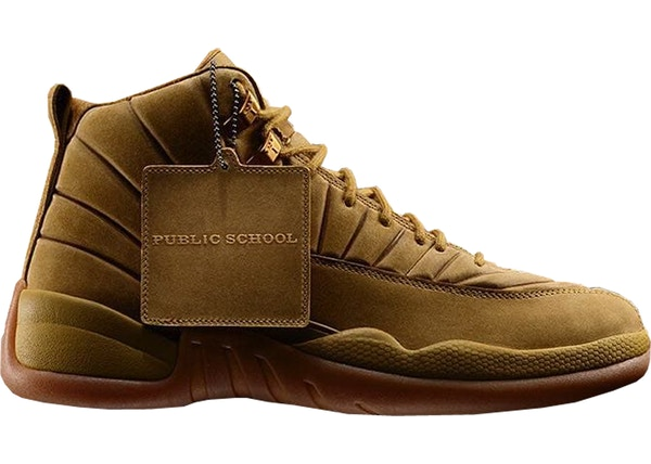 quality design 7e972 c0e45 Jordan 12 Retro PSNY Wheat - AA1233-700