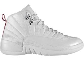 finest selection 13607 1cfa0 ... Air Jordan 12 Shoes - Average Sale Price jordan-retro-12-rising-sun  0906141053aaccfe489e681cea.