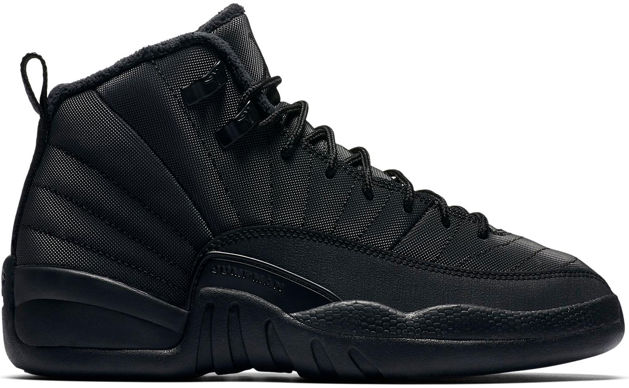 Jordan 12 Retro Winter Black (GS)